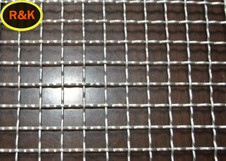 Wear Resistant Crimped Wire Mesh Durable Square Shape High Stability