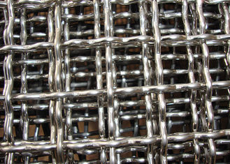 Plain Weave Industry Crimped Wire Mesh High Wear Resistance Width 0.5 - 0.6m