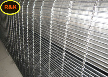 Fire Retardant Architectural Wire Mesh Multi Color Plywood Decorative For Hotels