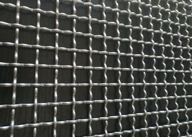 Galvanized Steel Industrial Crimped Wire Mesh Anti Corrosion Sturdy Structure
