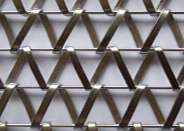 Decorative Chain Metal Architectural Wire Mesh Beautiful Color For Hotel