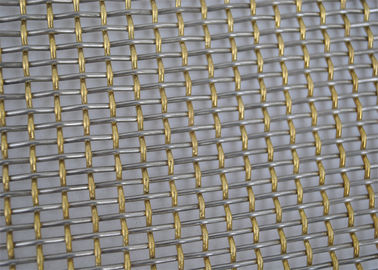 Square Hole Galvanized Crimped Woven Wire Mesh 304 316 Stainless Steel